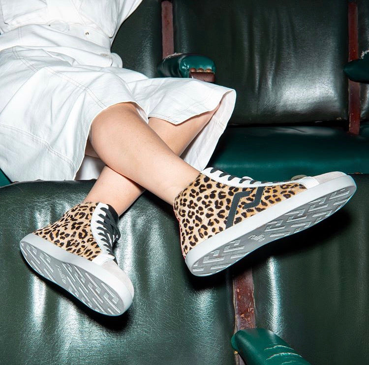 Prime High Top Leopard Clash