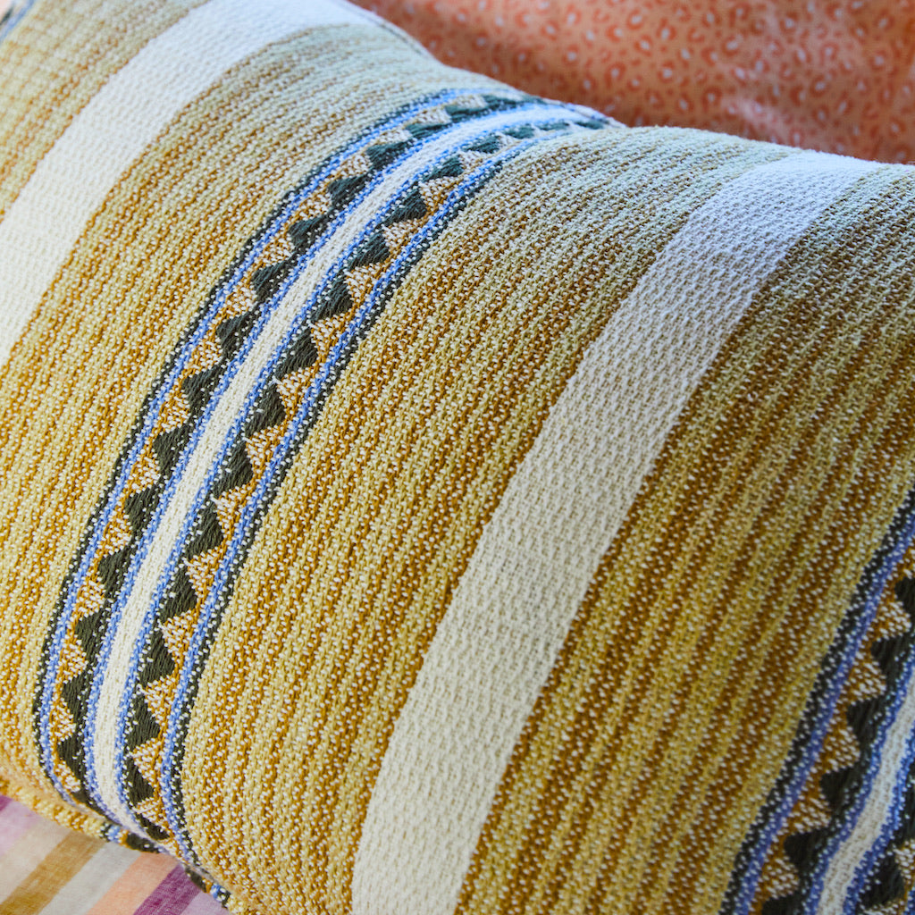 Toto Woven Cushion - Pear