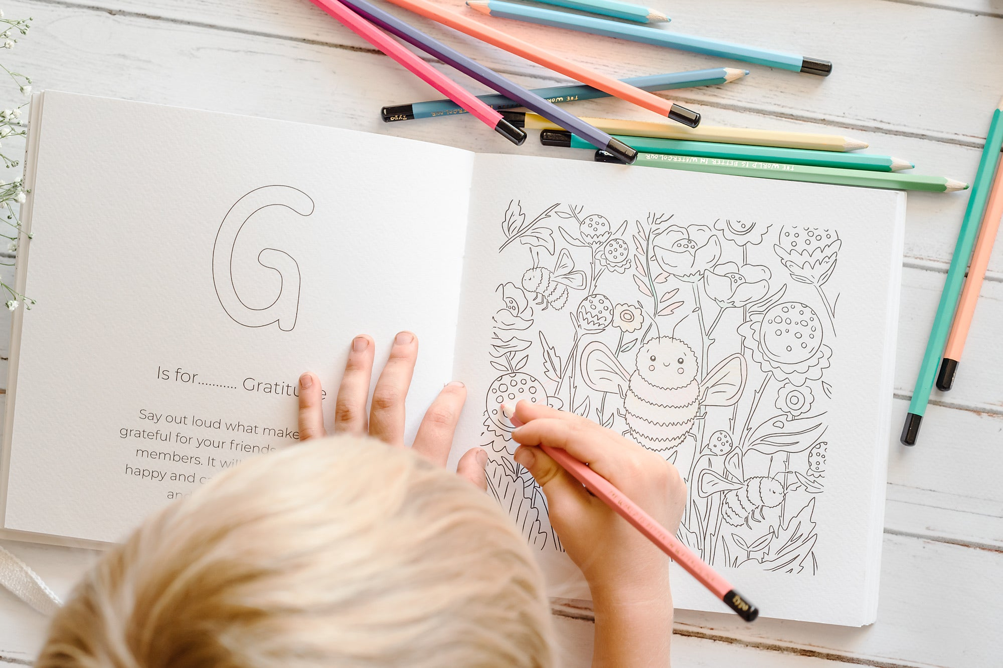ABC of Mindfulness Colouring in Book