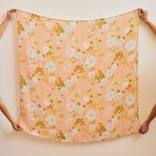 Peach Blossom Bamboo / Organic Cotton Swaddle