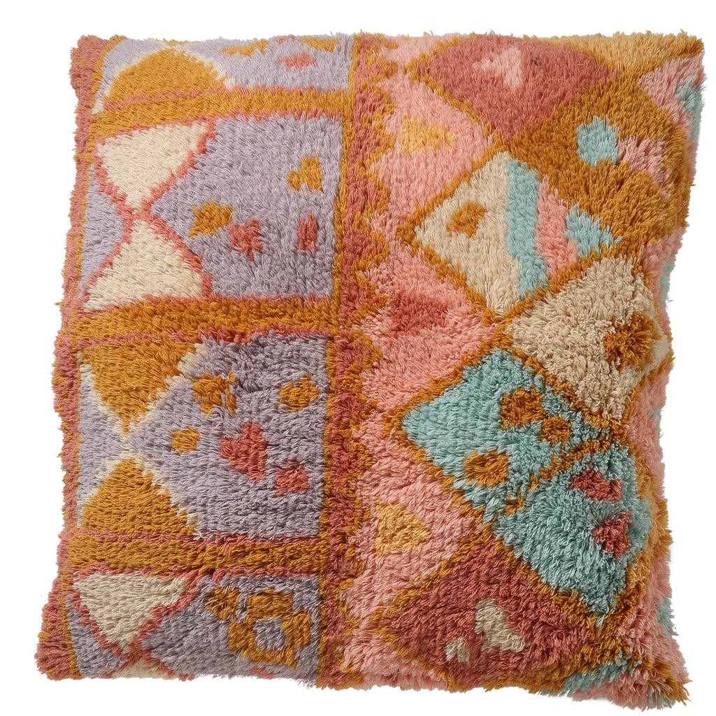 Desert at Dusk - Shag Floor Cushion