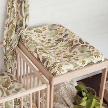 Rainforest Hemp - Hemp / Organic Cotton Bassinet Sheet / Changing Pad Cover