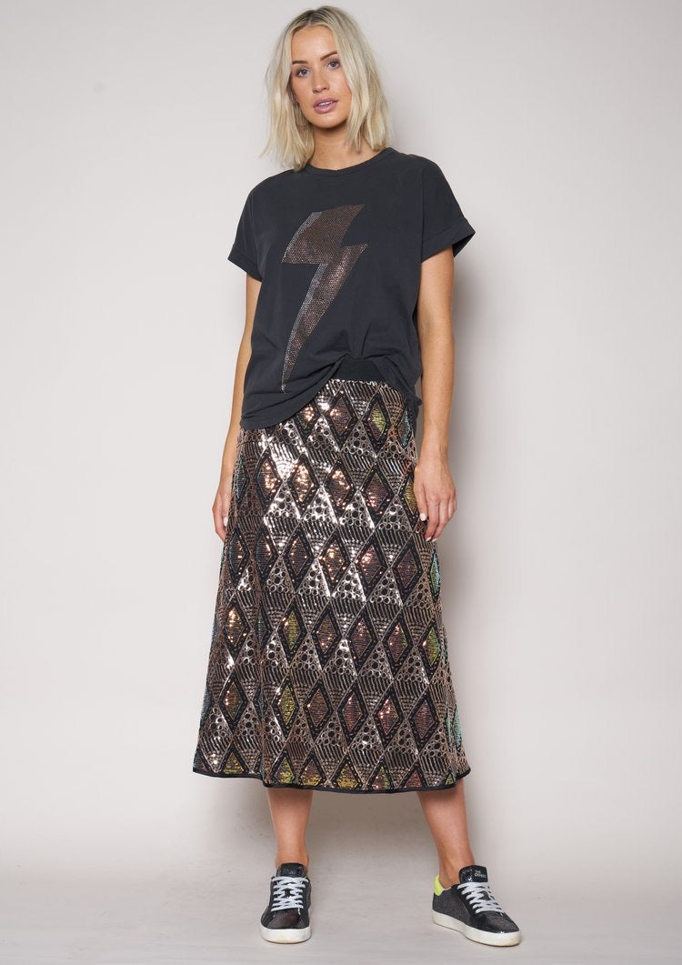 The Diamonds in the Sky Skirt