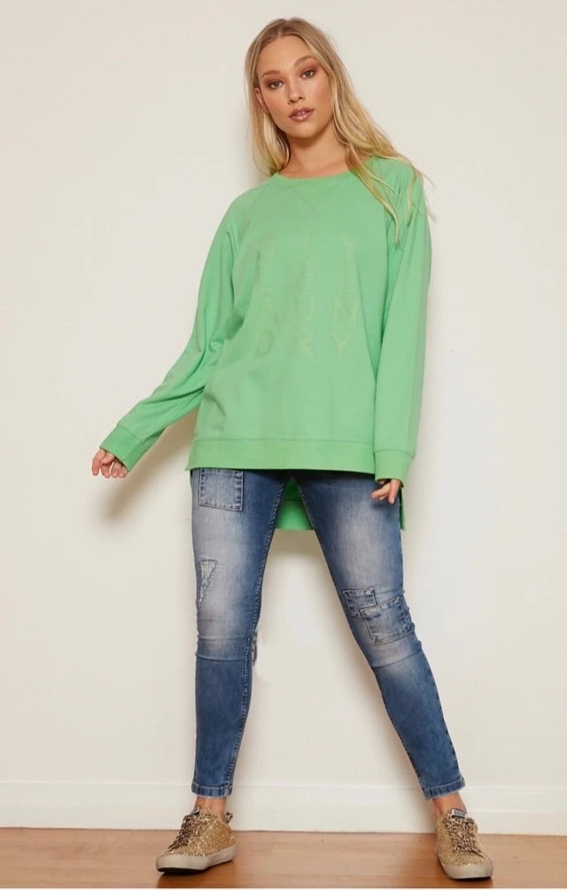 Style Laundry Classic Sweat - Lime