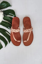 Griegas Sandals - Natural Leather