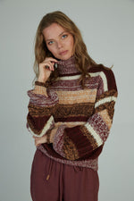 Lola Knit - Wine Mix