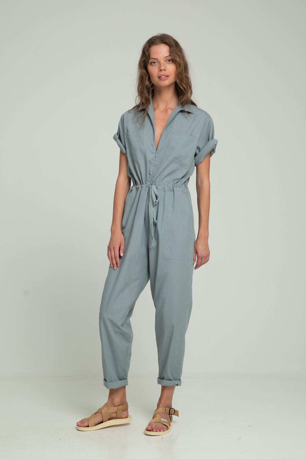 Farrah Jumpsuit - Denim