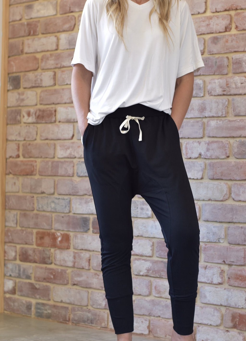 Jersey Joggers - Black