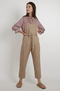 Calliope Jumpsuit - Natural
