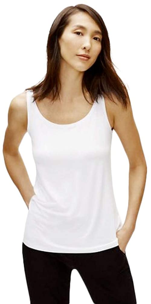 Eileen Fisher Lightweight Viscose Jersey Slim Tank - Style No. EEVFF-U4186, Tank Top, Cami