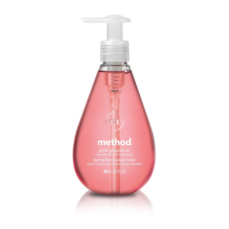 Method Gel Hand Soap - 12oz Variety Pack (Sea Minerals, Lavender, Graprefruit)