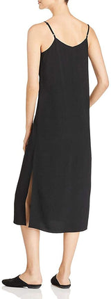 Eileen Fisher Womens Tencel Crepe Casual Dress