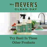 Mrs. Meyer's Clean Day Room Freshener Spray, Instantly Freshens the Air with Basil Scent, 8 oz (Pack of 3)