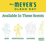 Mrs. Meyer's Clean Day Moisturizing Body Wash, Cruelty Free and Biodegradable Formula, Honeysuckle Scent, 16 oz