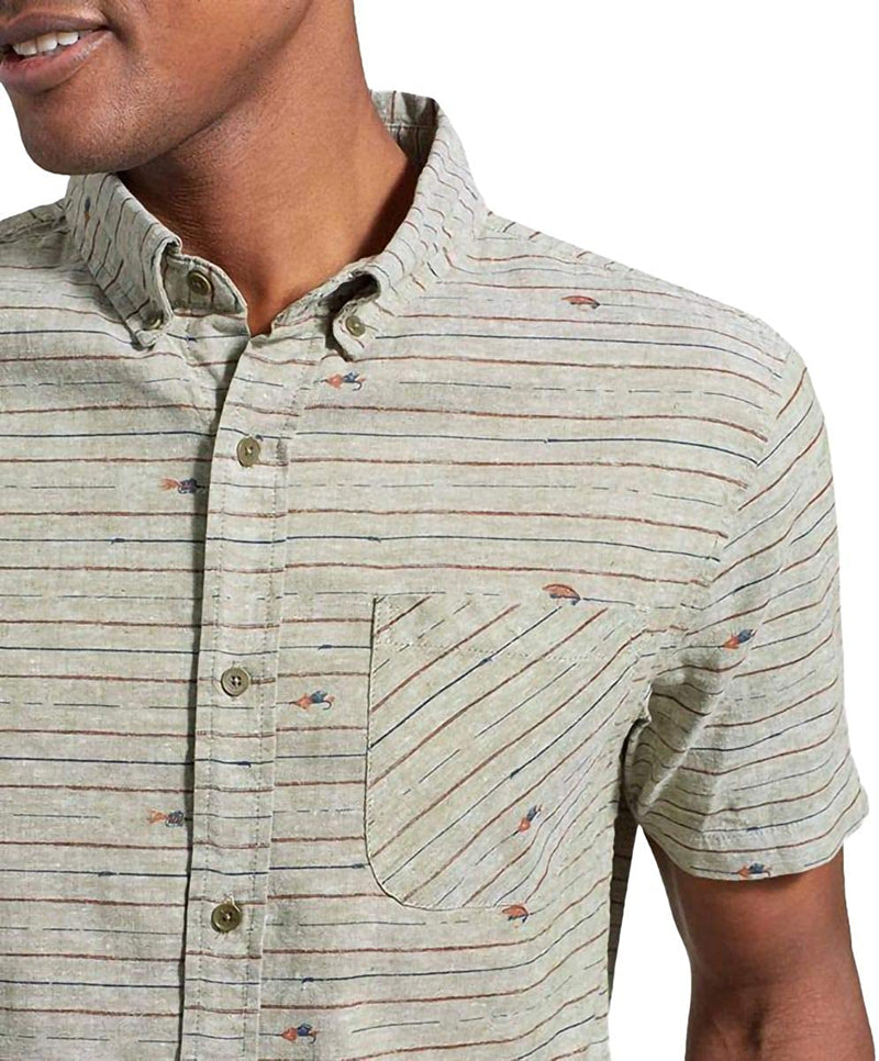 United By Blue Allday Chambray Short Sleeve Button-Down