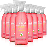 Method All-Purpose Cleaner, Pink Grapefruit, 28 Fl Oz (Pack of 8)