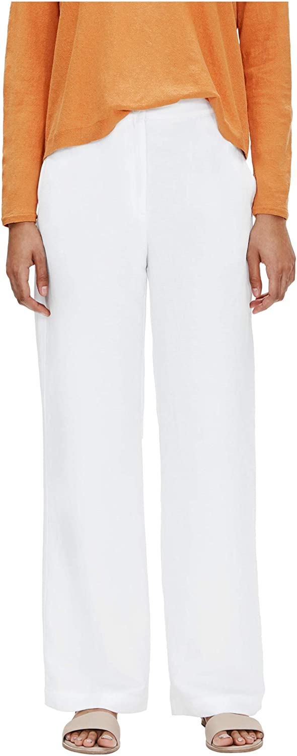 Eileen Fisher Straight Wide Leg Pants