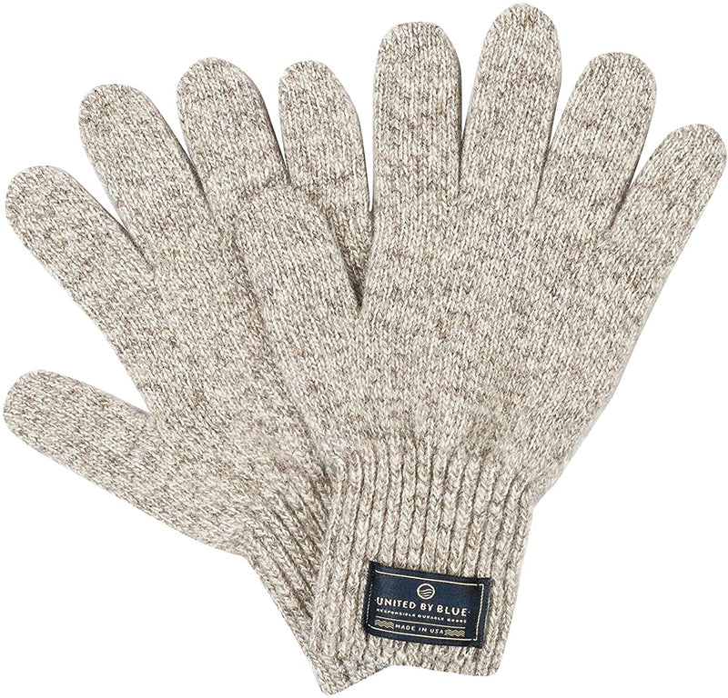 United By Blue - Ragg Wool Gloves - Naturally Water Repellent - Made In The USA