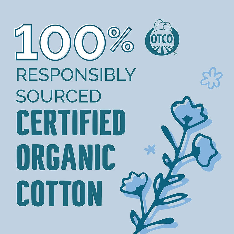 Seventh Generation Tampons, Non-Applicator, Organic Cotton, Regular Absorbency, 20 count, 12 Pack (Packaging May Vary)