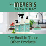 Mrs. Meyer's Clean Day Dryer Sheets, Softens Fabric, Reduces Static, Cruelty Free Formula, Basil Scent, 80 Count