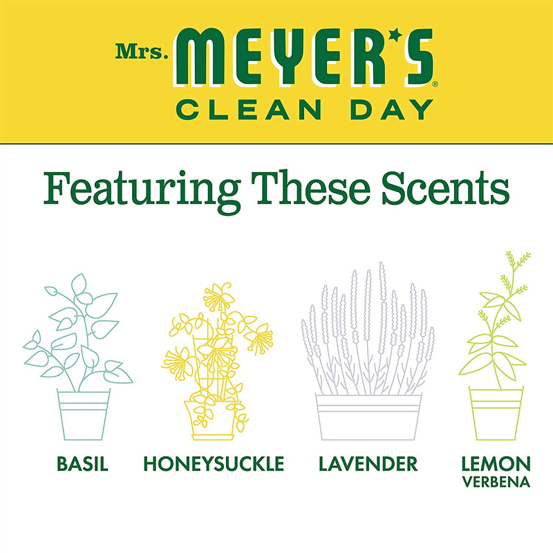 Mrs. Meyer's Clean Day Liquid Laundry Detergent, Cruelty Free and Biodegradable Formula, Honeysuckle Scent, 64 oz