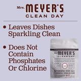 Mrs. Meyer's Clean Day Automatic Dishwasher Pods, Cruelty Free Formula Dish Soap Tablets, Lavender Scent, 20 Count - Pack of 3 (60 Total Pods)