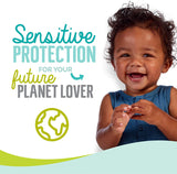 Seventh Generation Baby Diapers, Size 3, 120 Count, Giant Pack, for Sensitive Skin