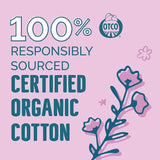 Seventh Generation Organic Cotton Tampons with Comfort Applicator Super Absorbency 18 Count, Pack of 6