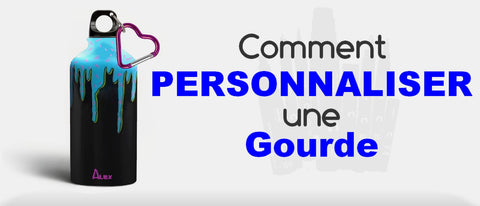 comment personnaliser sa gourde