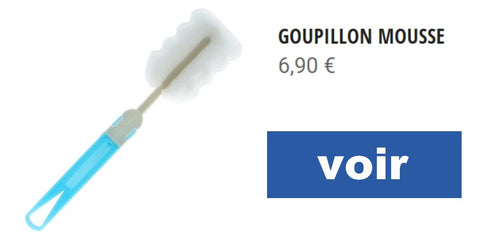 goupillon mousse