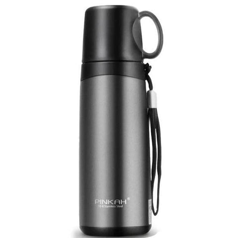 bouteille isotherme thermos avec gobelet