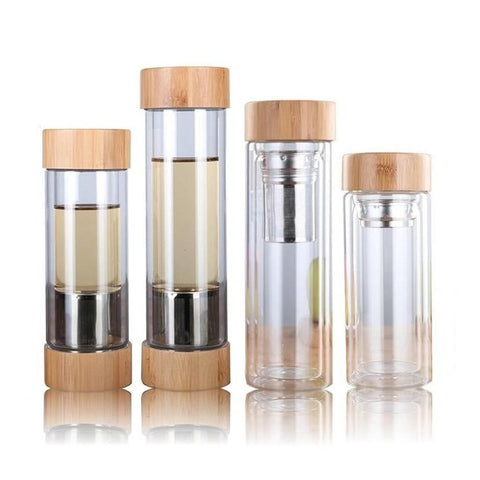 bouteille infuseur verre