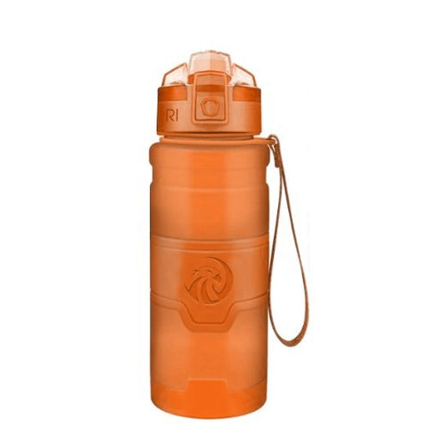Gourde sport fitness orange