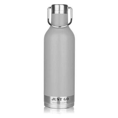 Bouteille isotherme inox Retro