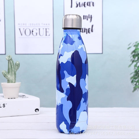 Gourde inox Camouflage (isotherme)