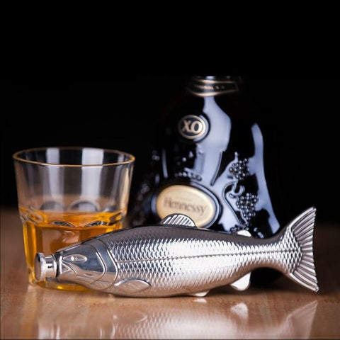 Flasque whisky pêche