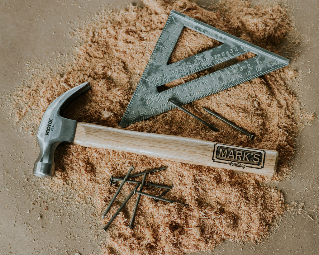 Gift Ideas for Men - Man Gifts - Gifts for Dad - Husband Gifts - Gifts for Brother - Father in Law - Engraved Hammer
