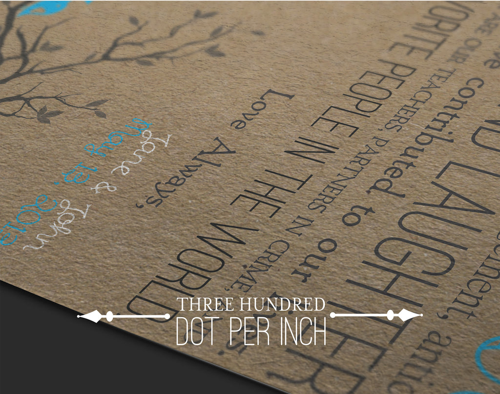 Rustic Wedding Program - Crafty Vintage Classy & Elegant Bi-fold - DIY, Customizable INSTANT DOWNLOAD