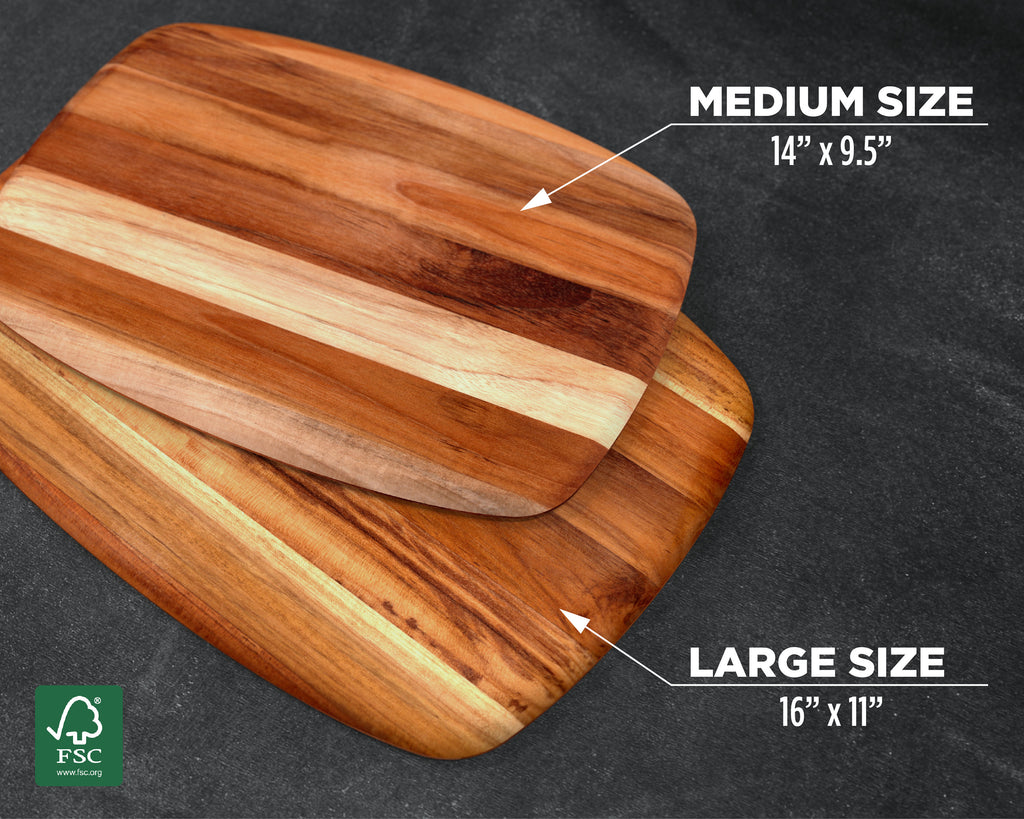 Wood Cutting Board, Teak, Cheese Board, Cheese Tray, Cheese Plate, Appetizers, Party Platter, Platter, Serving Platter, Serving Board, Wood