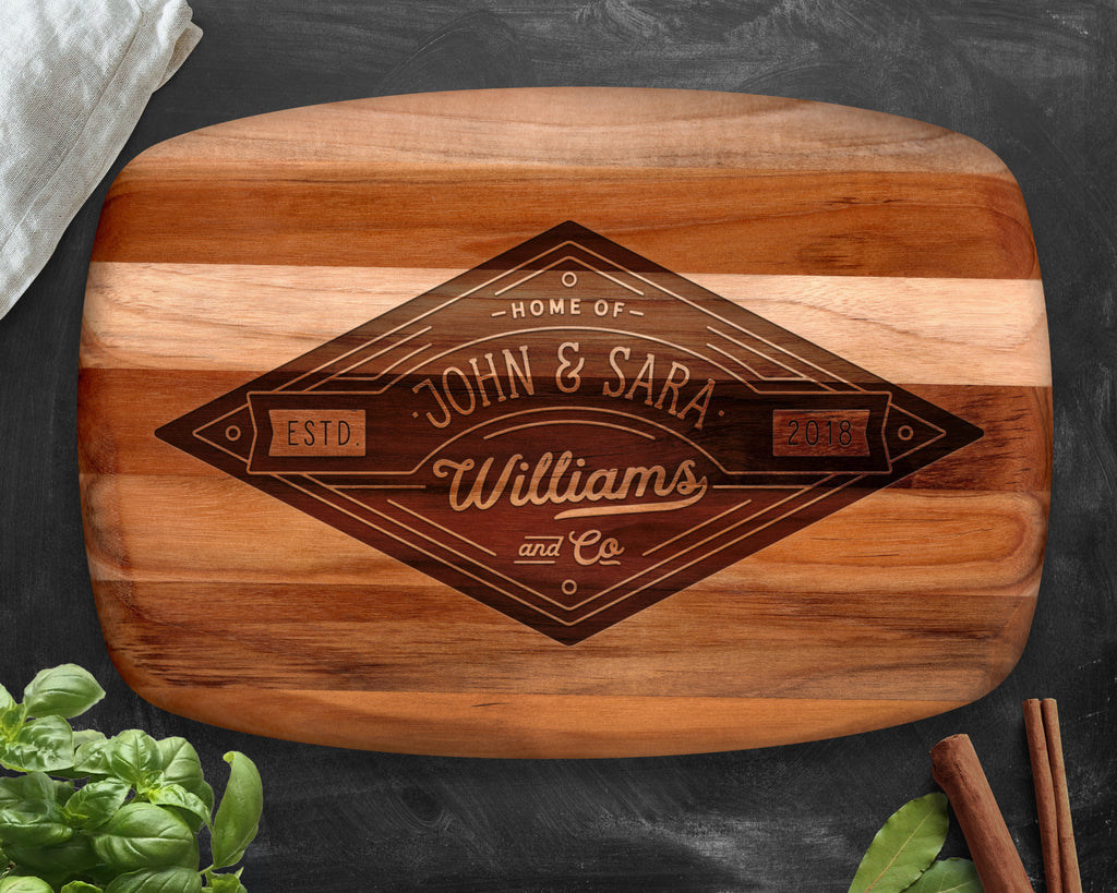 Cutting Board, Teak, Wood Cutting Board, Cutting Boards, Chopping Board, Cheese Board, Custom Cutting Board, Custom Cheese Board, Engraved