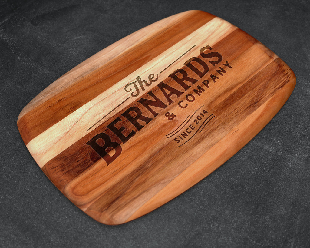 Cheese board, Personalized Cheese Board, Custom Cheese Board, Wood Cheese Board, Teak, Cutting Board, Serving Board, Unique Christmas Gifts