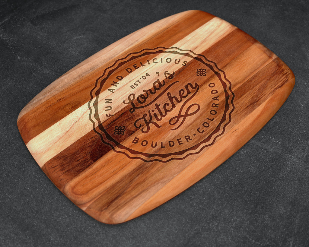 Mother Gift, Teak, Cutting Board, Gift for Mom, Gift for Sister, Kitchen Accessories, Gift for Daughter, Mother's Day Gift 2019, Mothers Day