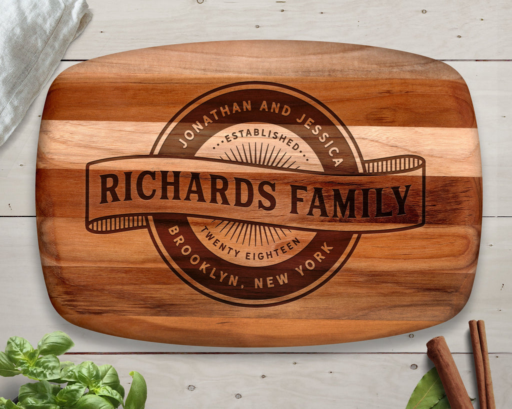 Vintage Sign, Cutting Board, Teak, Custom Sign, Custom Vintage Sign, Personalized Vintage Sign, Kitchen Sign, Personalized Sign, Gift Ideas