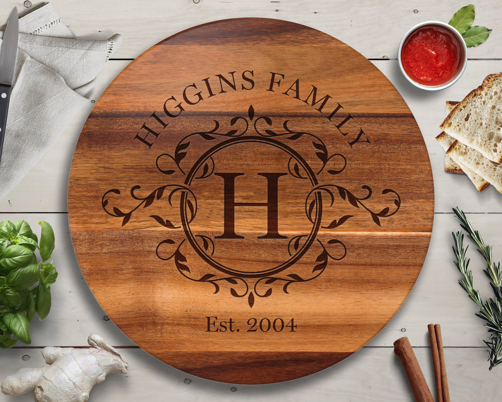 Custom Lazy Susan, Wife Gift, Gift for Her, Gift for Mom, Personalized Lazy Susan, Wedding Gift, Personalized Kitchen, Kitchen Gift, Cooking