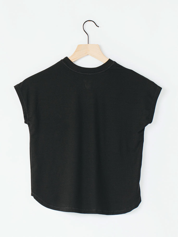Radically Me Girls Tee - Black Black