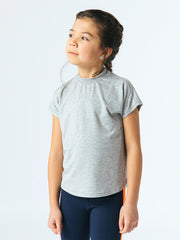 Radically Me Girls Tee - Soft Gray