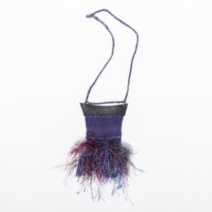 La Couleur du Ciel, Purple and Shaggy Neck Tapestry
