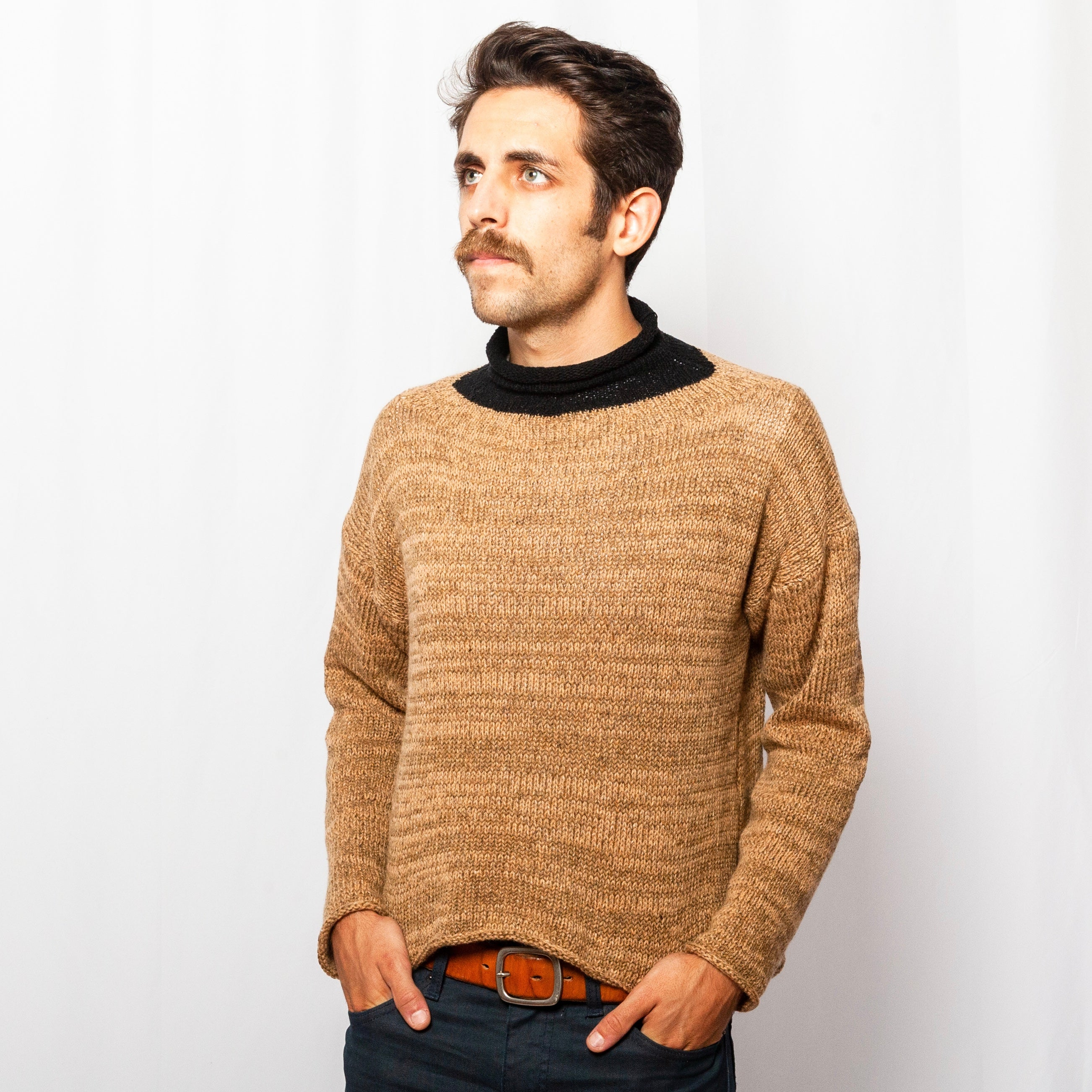 HdN Mock Turtleneck Pullover