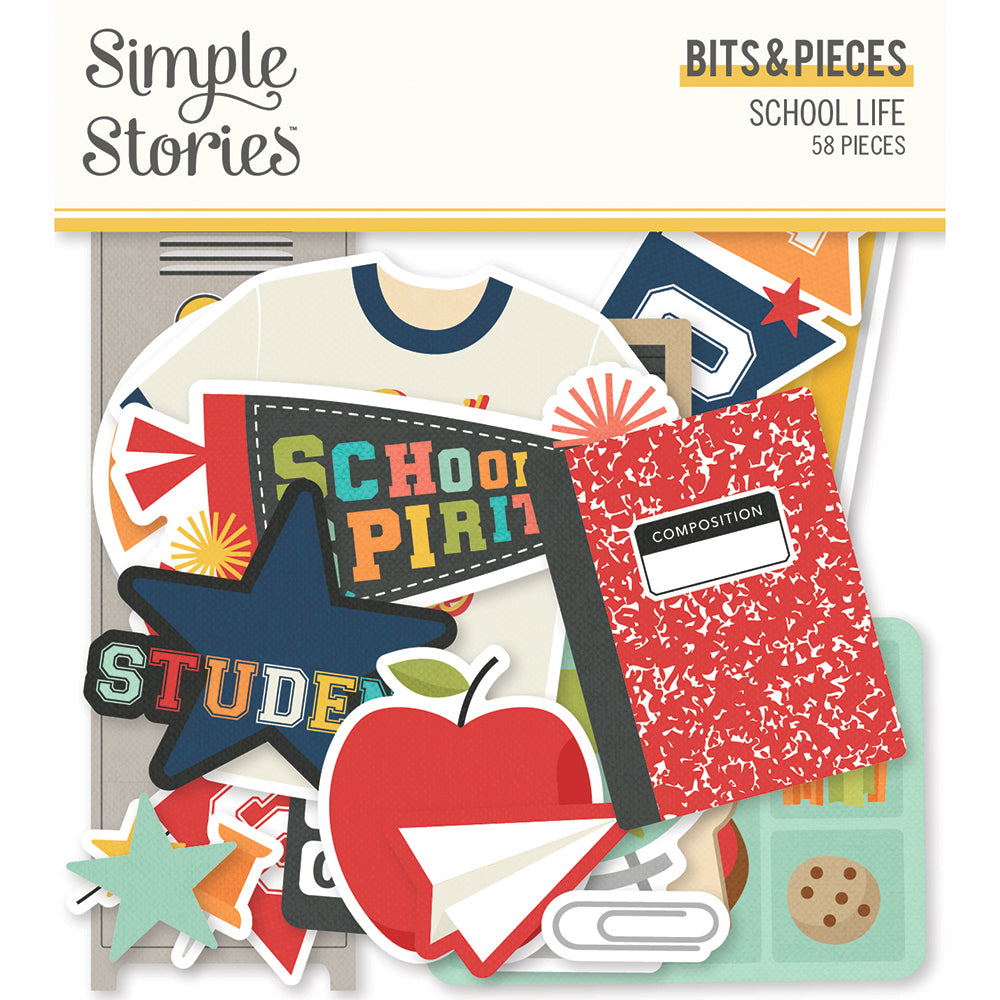 Simple Stories - School Life Bits & Pieces