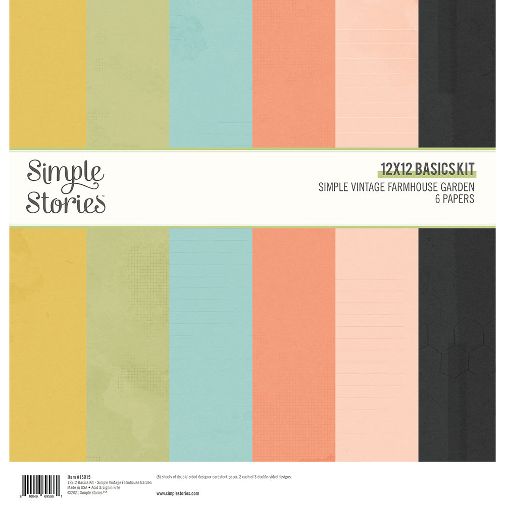 PRE-ORDER Simple Stories - Simple Vintage Basics Kit